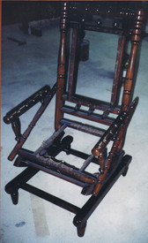 antique rocking chair repair after