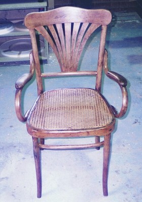 chair restoration repaired antique chair