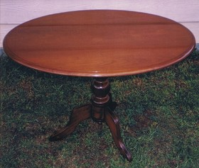Restoration Of Antique Tables In Sydney Using French Polishing